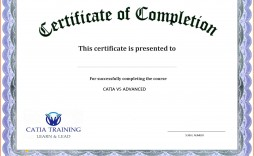 000 Unbelievable Certificate Of Completion Template Free Highest Clarity  Training Download Word