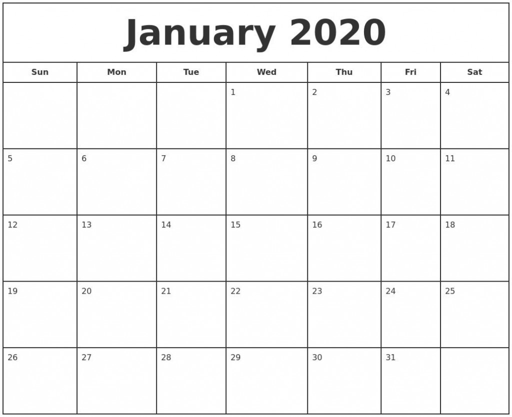 000 Unbelievable Free 2020 Calendar Template Idea  Templates Monthly Excel Download Printable MayLarge