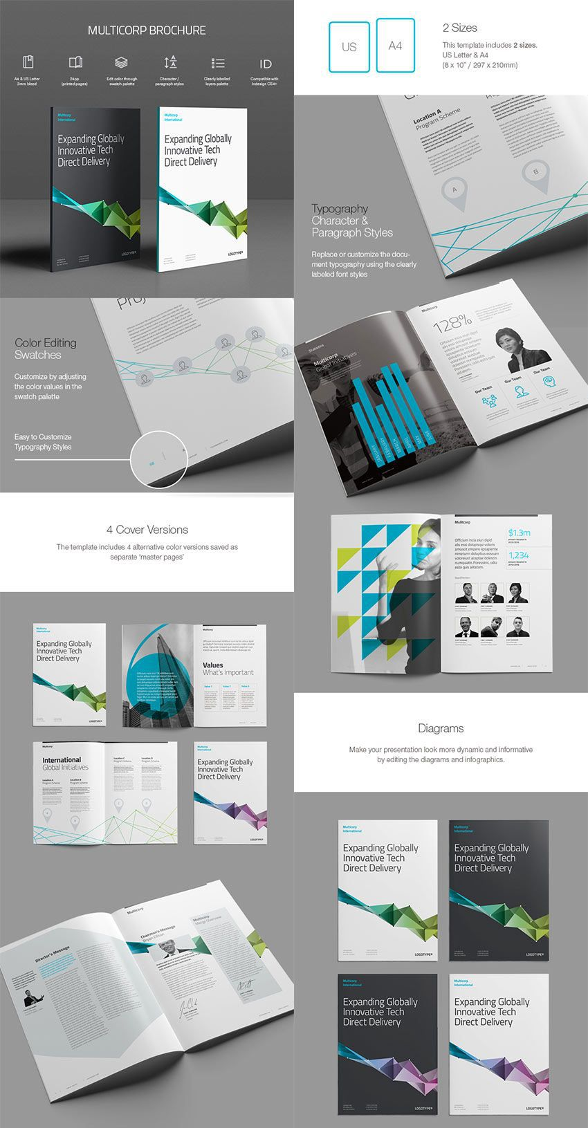 000 Unbelievable Indesign A4 Brochure Template Free Download Highest Clarity Full