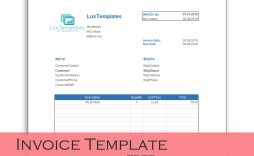 000 Unbelievable Microsoft Excel Invoice Template Free High Def  Download Service