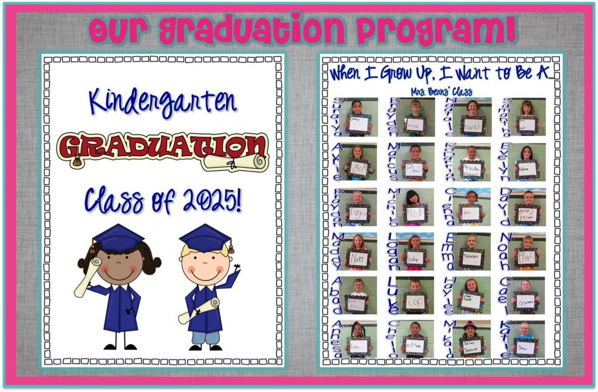 000 Unbelievable Preschool Graduation Program Template Concept  Templates Free Printable Pdf1920