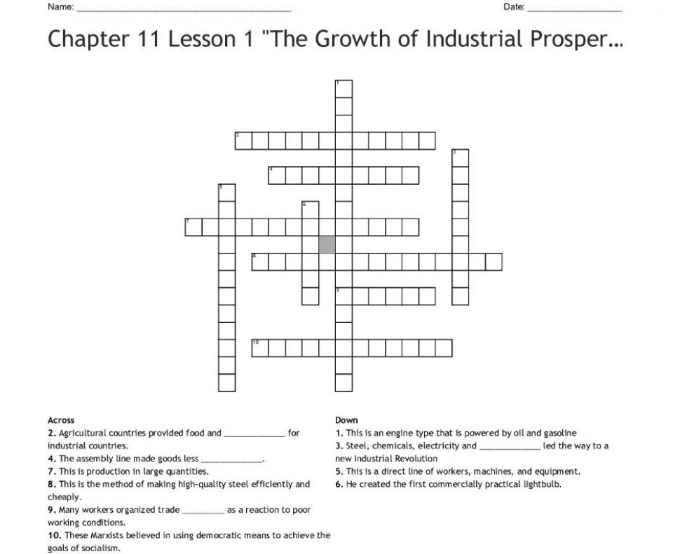 000 Unbelievable Prosperity Crossword Design  Sound Clue Material960
