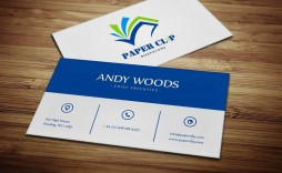 000 Unbelievable Staple Busines Card Template Psd Inspiration