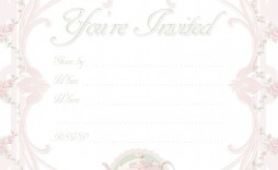 000 Unbelievable Tea Party Invitation Template Free Sample  Afternoon High Invite Download