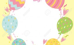 000 Unbelievable Template For Birthday Card Image  Happy Invitation