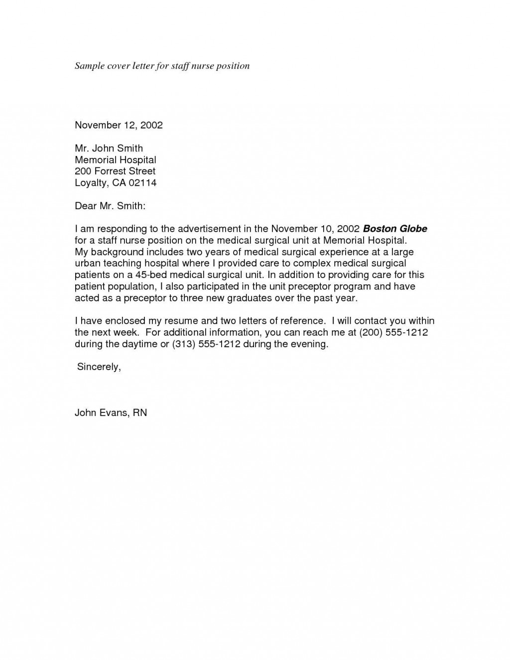 000 Unforgettable Best Covering Letter Example  Examples Sample UkLarge