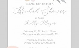 000 Unforgettable Free Bridal Shower Invite Template Sample  Invitation For Word Wedding Microsoft