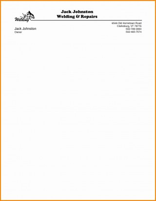 000 Unforgettable Letterhead Template Free Download Doc High Resolution  Company Format320