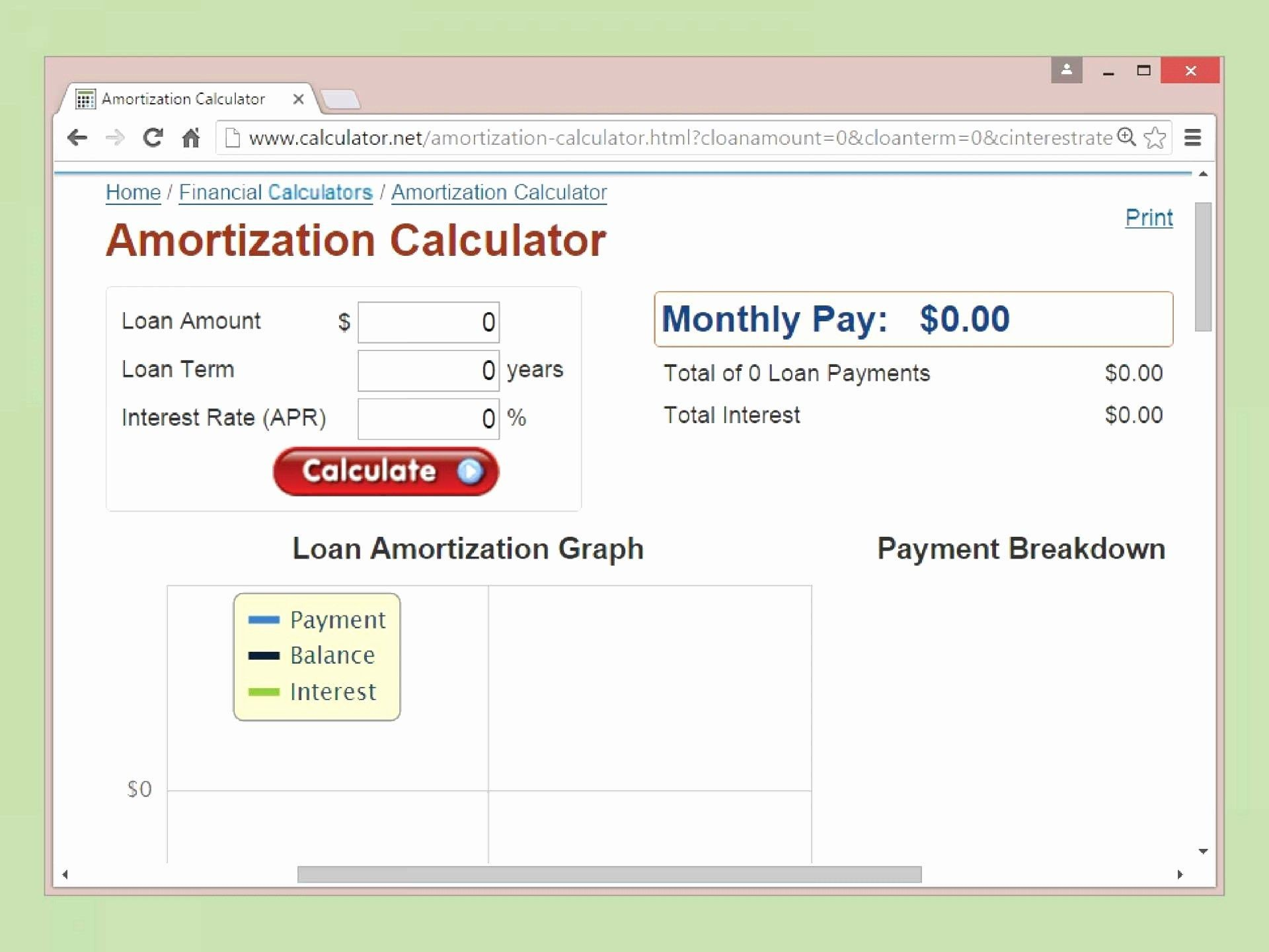 Amortization Schedule In Excel Template from www.addictionary.org