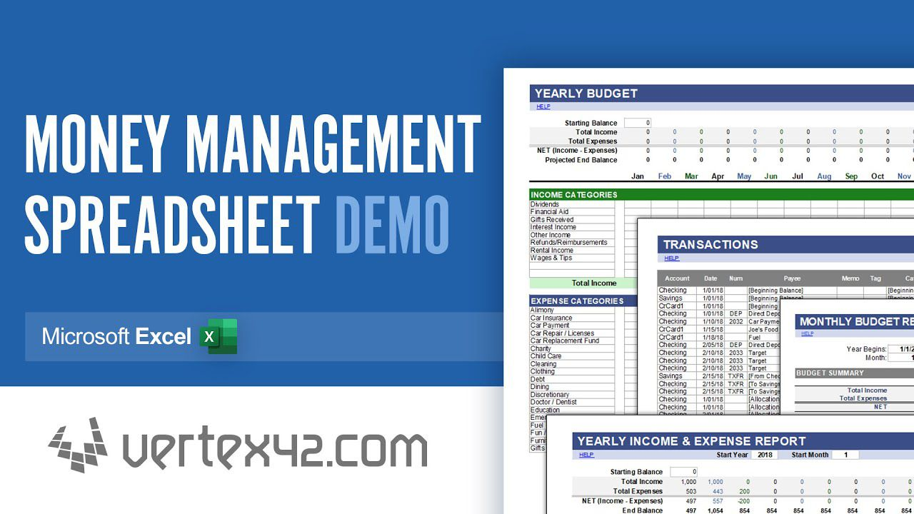 000 Unforgettable Microsoft Excel Personal Budget Template Design  MonthlyFull
