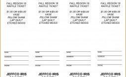 000 Unforgettable Microsoft Word Raffle Ticket Template Picture  Free Office