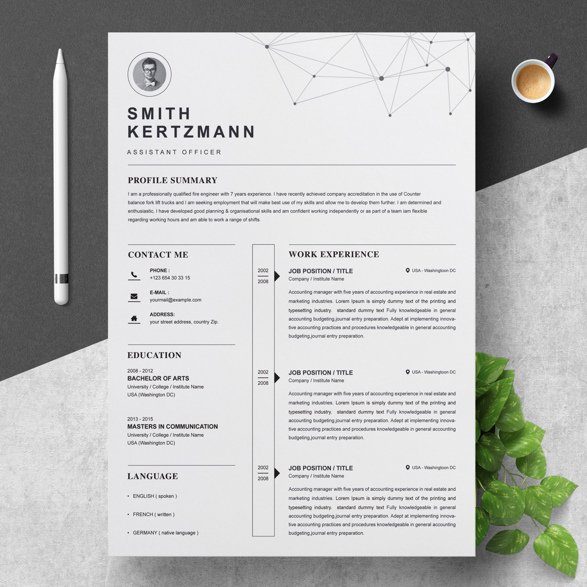 000 Unforgettable Professional Cv Template Free Word Highest Clarity  Uk Best Resume Download1920