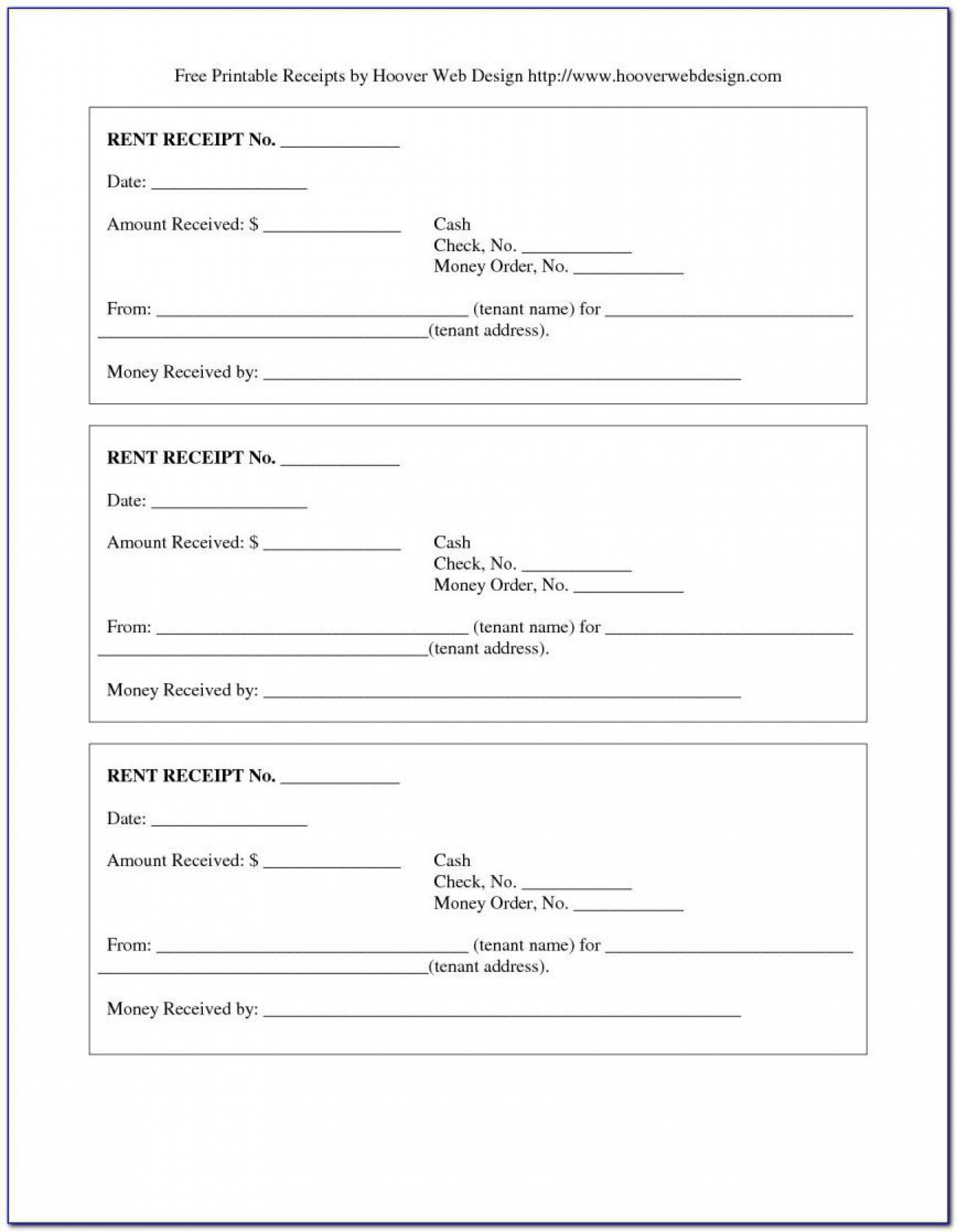 Free Rent Receipt Template Excel from www.addictionary.org