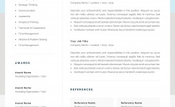 000 Unforgettable Resume Reference Template Microsoft Word Inspiration  List