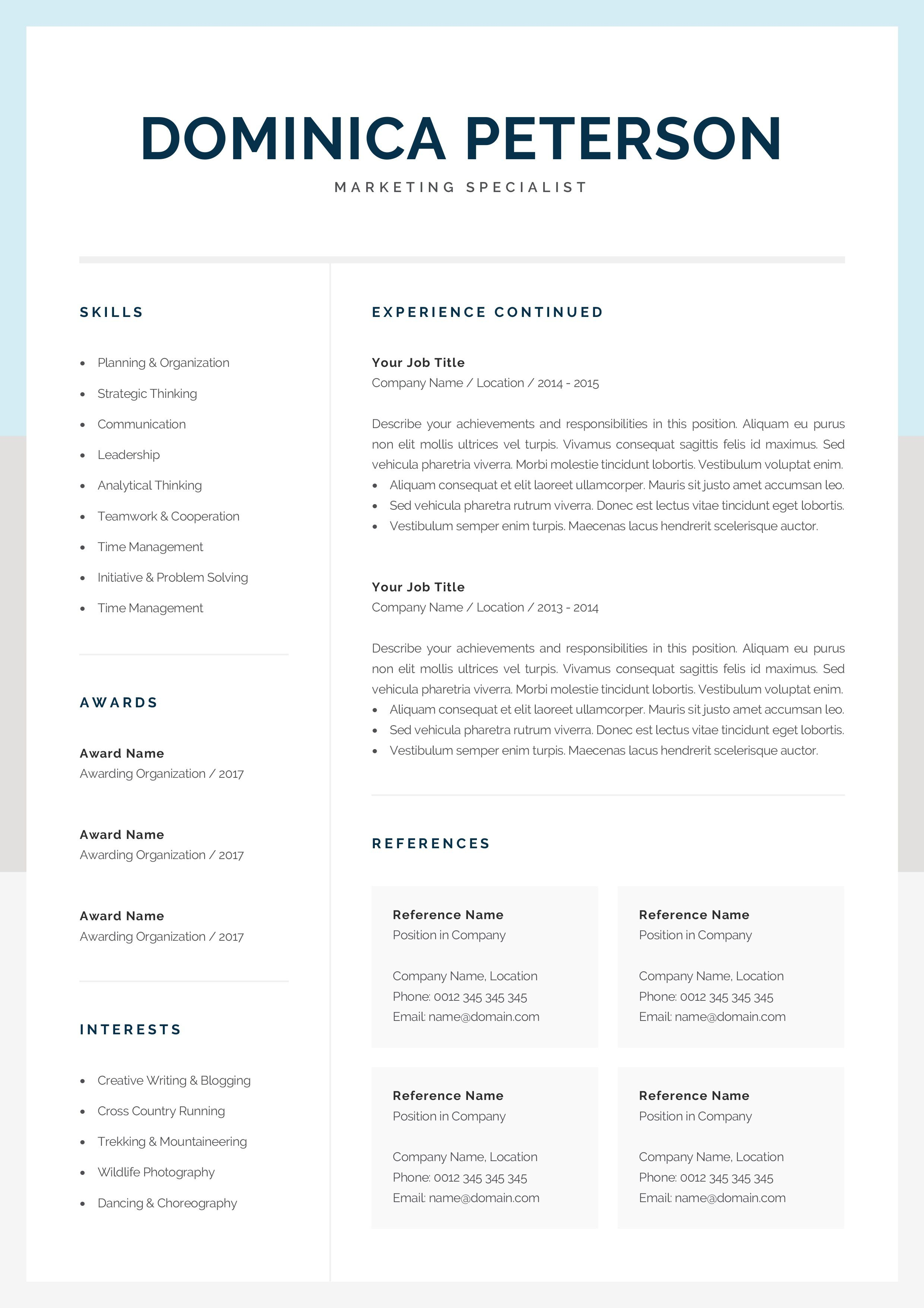 000 Unforgettable Resume Reference Template Microsoft Word Inspiration  ListFull