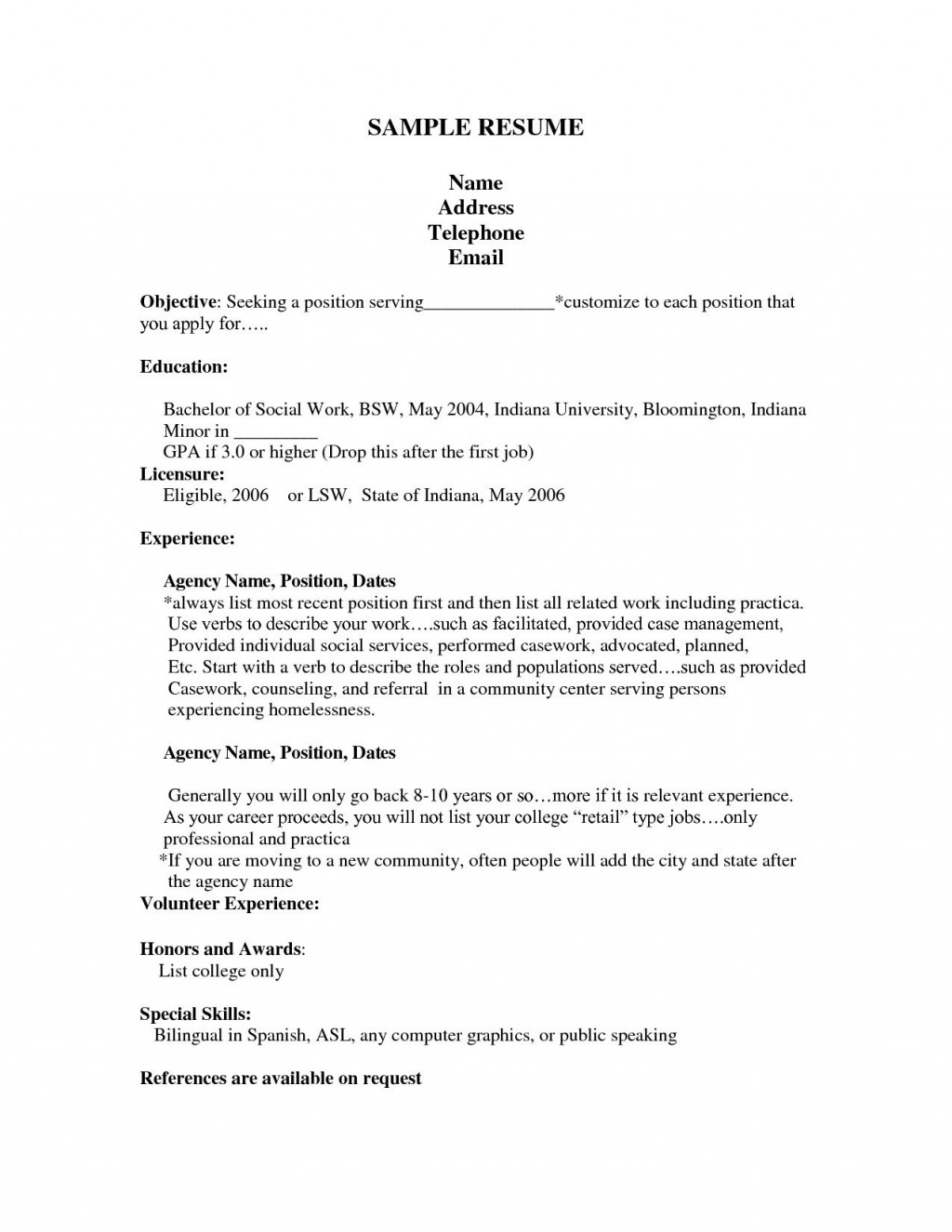 000 Unforgettable Resume Template For First Job Design  No Experience Student Cv Nz FormatLarge