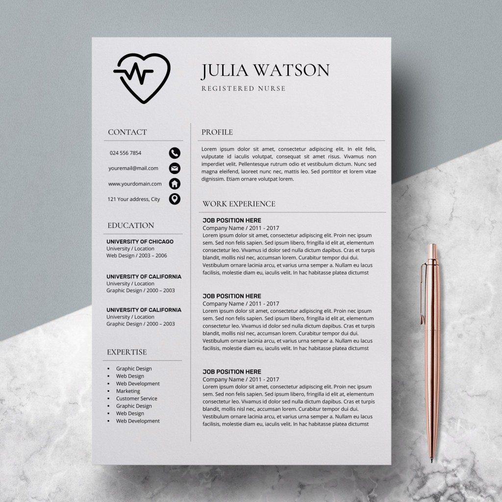 000 Unforgettable Resume Template For Nurse Design  Sample Nursing Assistant With No Experience Rn' FreeLarge
