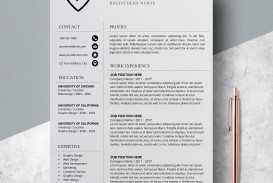 000 Unforgettable Resume Template For Nurse Design  Sample Nursing Assistant With No Experience Rn' Free