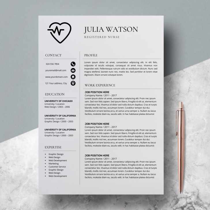 000 Unforgettable Resume Template For Nurse Design  Sample Nursing Assistant With No Experience Rn' Free728