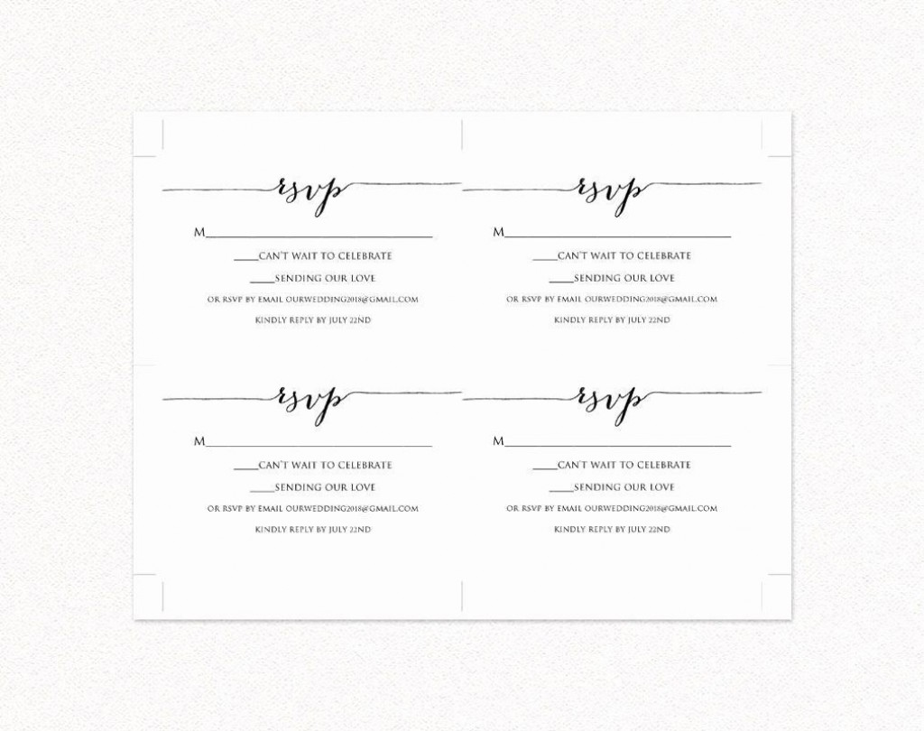 000 Unforgettable Rsvp Postcard Template For Word High Resolution Large