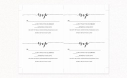 000 Unforgettable Rsvp Postcard Template For Word High Resolution