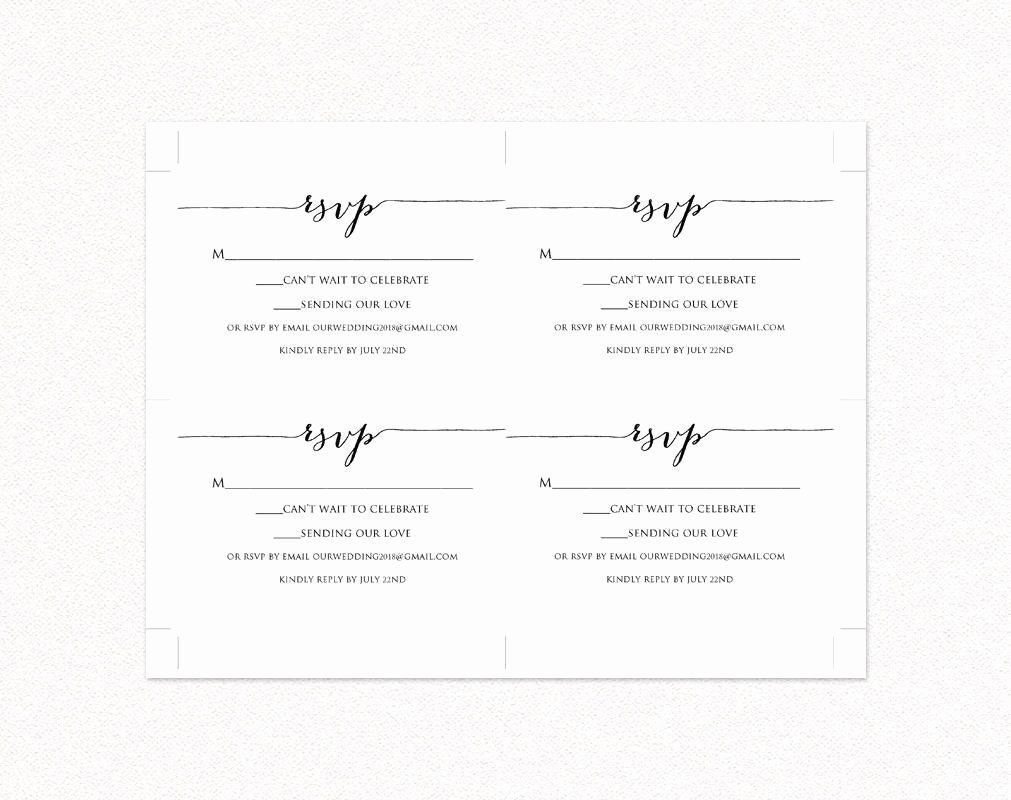 000 Unforgettable Rsvp Postcard Template For Word High Resolution Full