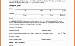 000 Unforgettable Scholarship Application Template Word High Resolution  College Letter Sample