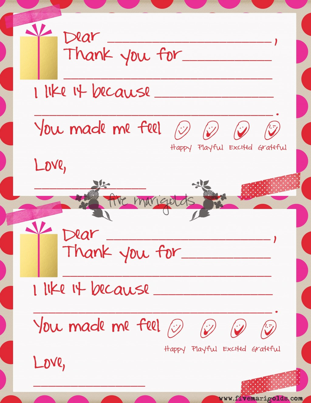 000 Unforgettable Thank You Note Template For Kid Highest Clarity  Kids Child Pdf LetterLarge