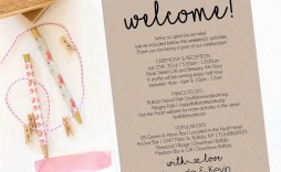 000 Unforgettable Wedding Guest Welcome Letter Template Picture