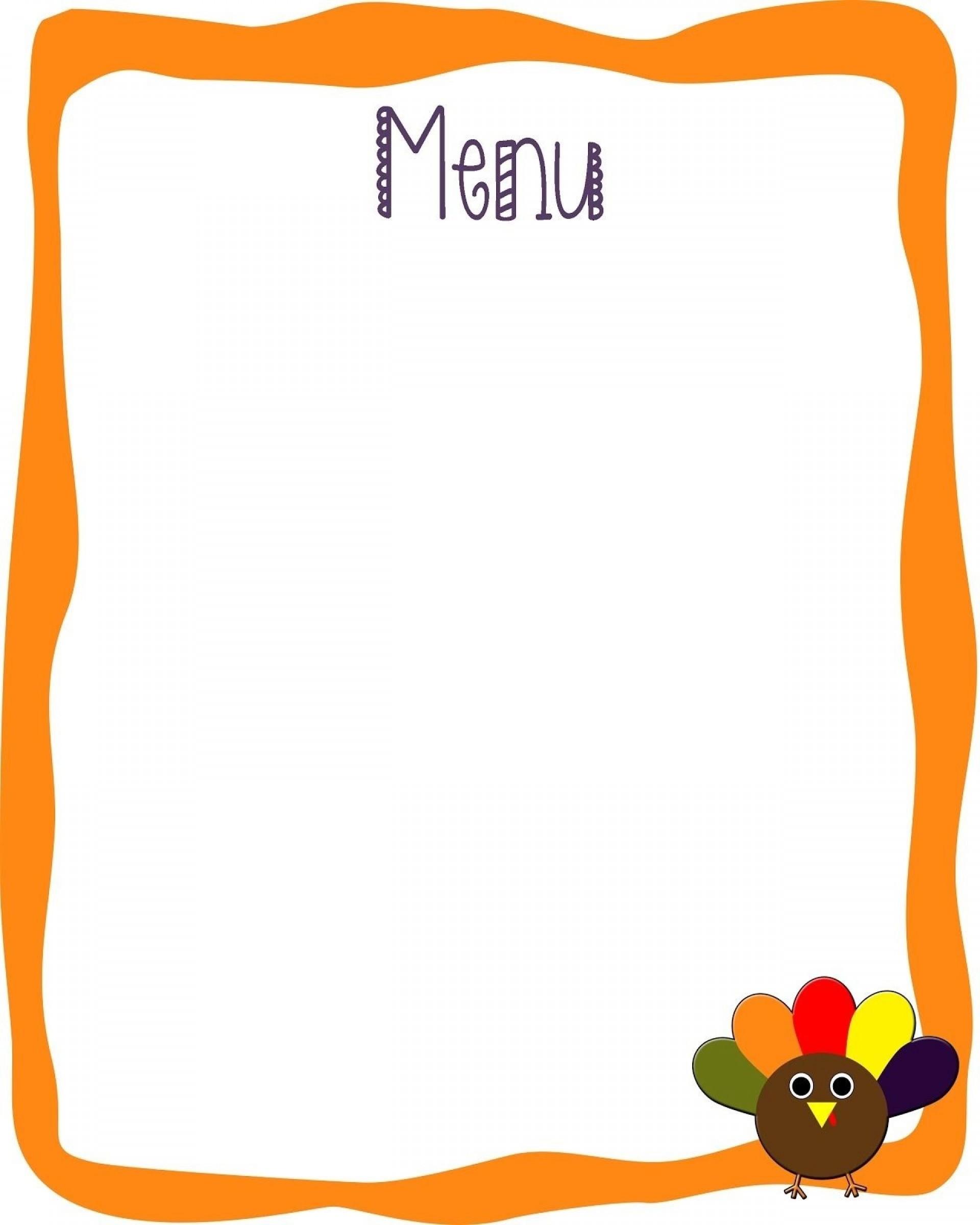 000 Unique Blank Restaurant Menu Template Highest Quality  Free Printable Downloadable1920