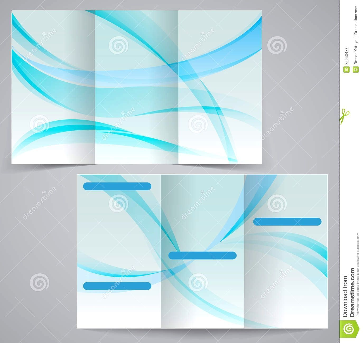 000 Unique Brochure Template For Word 2010 Concept  Download Microsoft Free Blank Tri FoldFull