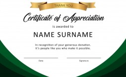 000 Unique Certificate Of Appreciation Template Free Idea  Microsoft Word Download Publisher Editable