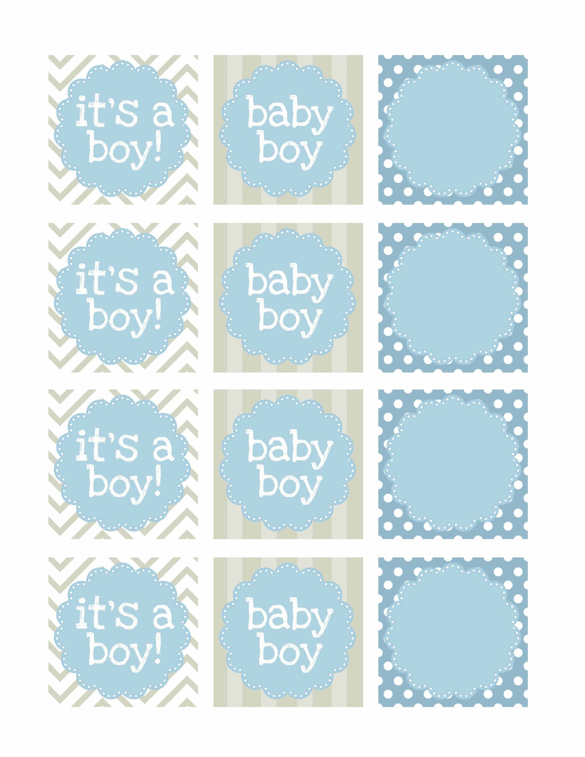000 Unique Free Baby Shower Printable Boy Image  Oh Invitation For1920