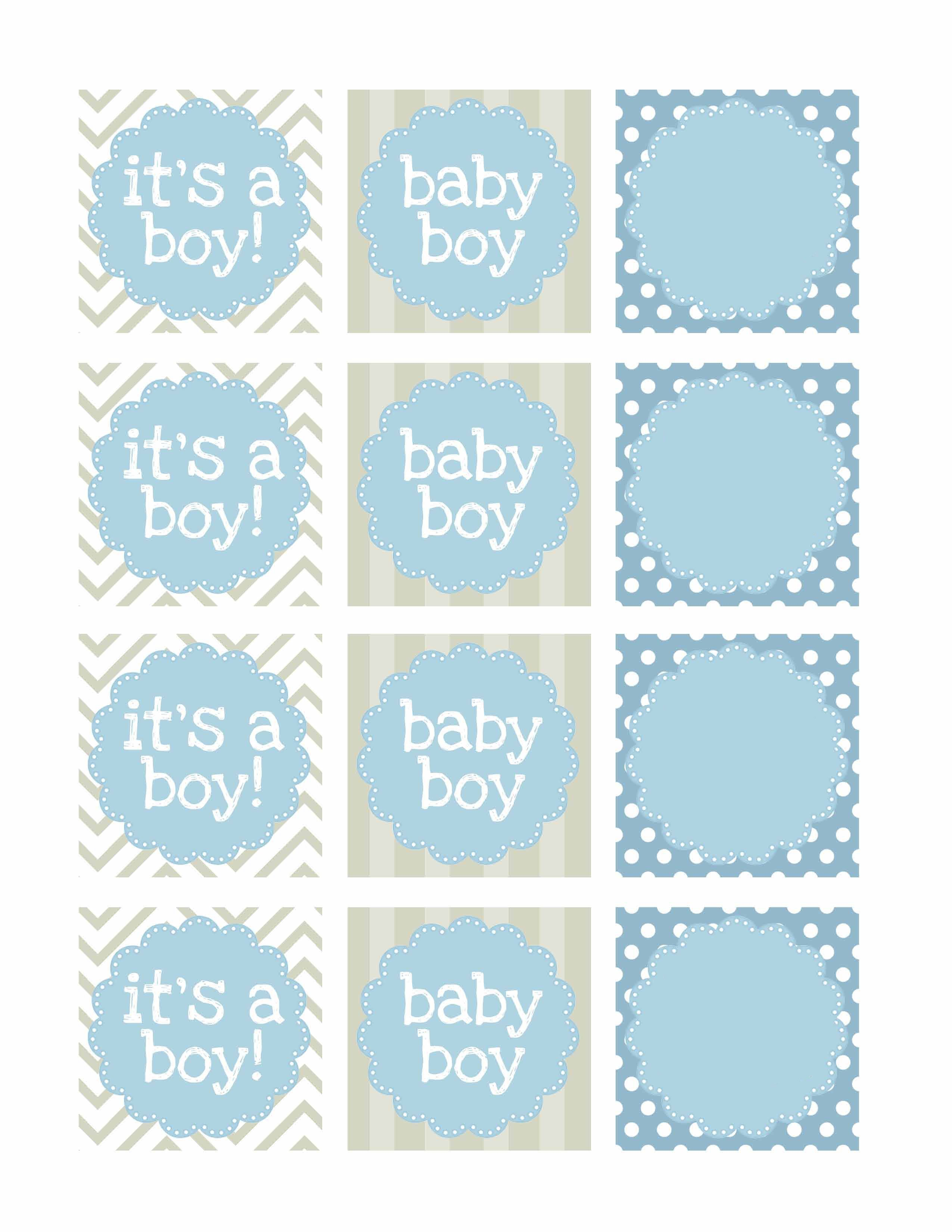 000 Unique Free Baby Shower Printable Boy Image  Oh Invitation ForFull