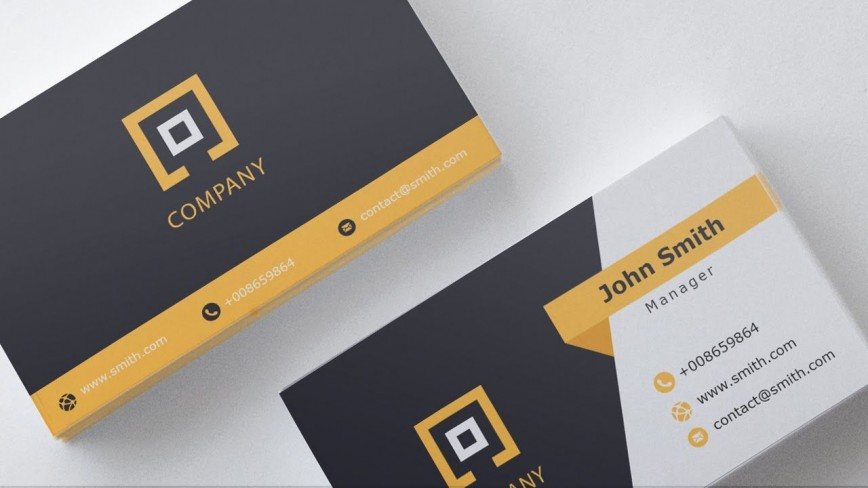 000 Unique Free Download Busines Card Template Inspiration  Blank Photoshop Psd File