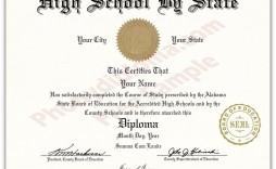 000 Unique Free High School Diploma Template Pdf Example