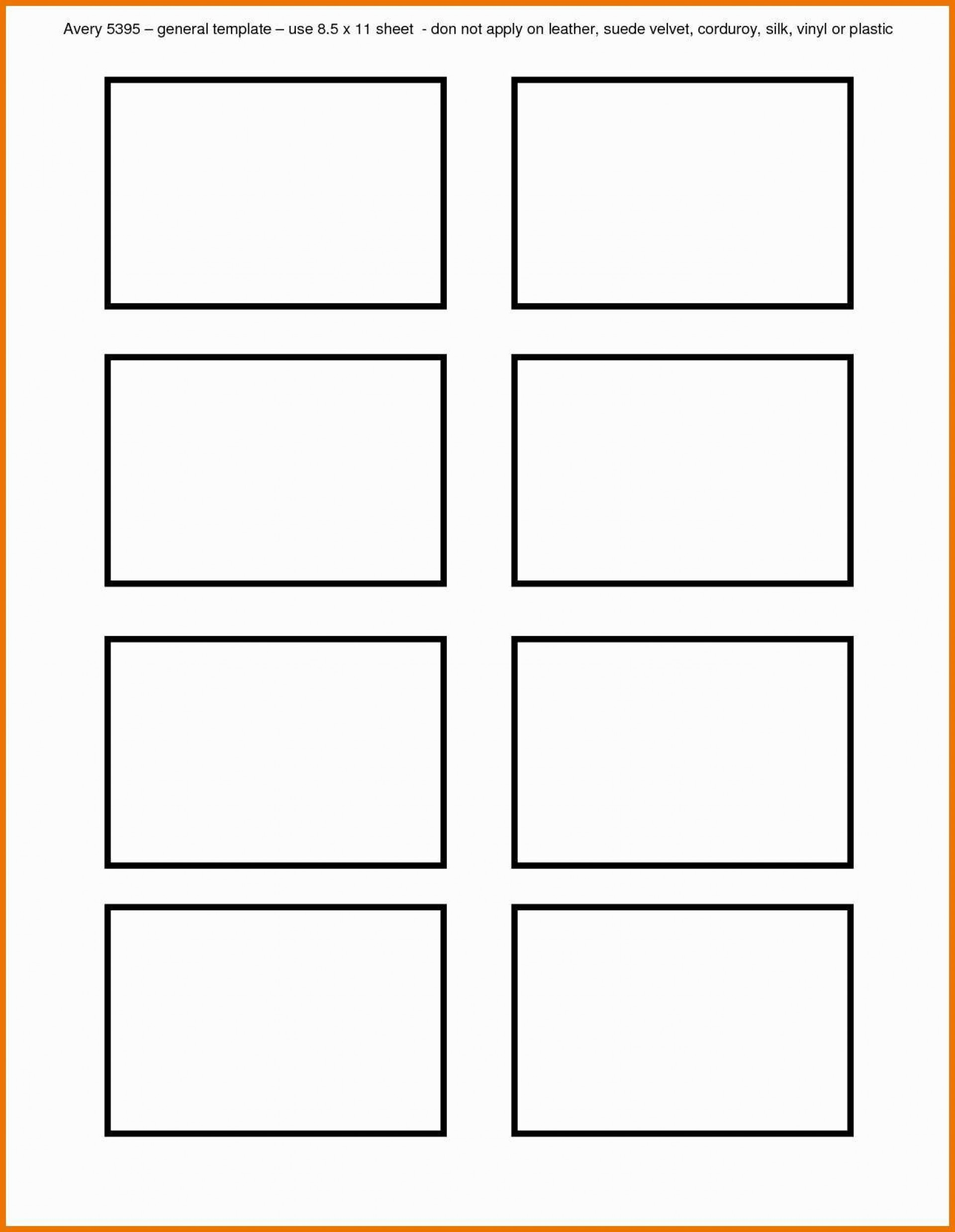 000 Unique Free Printable Card Template Word Concept  Blank Busines For1920