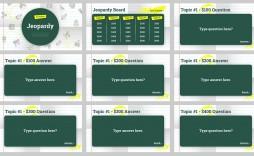 000 Unique Jeopardy Template Google Slide Sample  Slides Board Blank Best