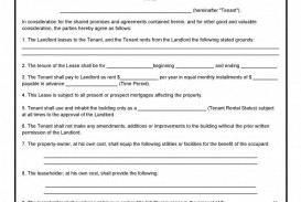 000 Unique Simple Lease Agreement Template High Resolution  Tenancy Free Download Rent Format In Word India Rental