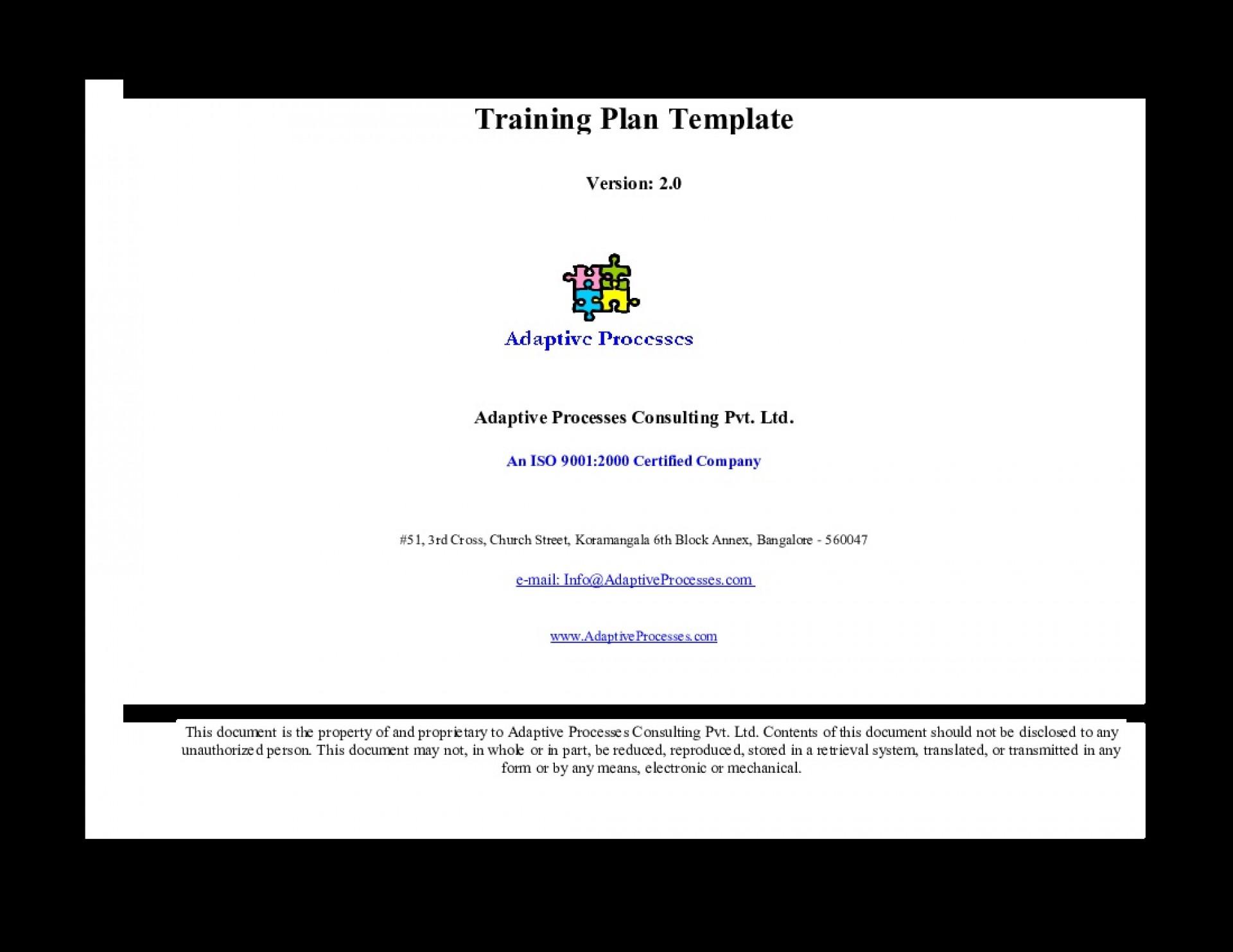 000 Unique Training Plan Template Excel Image  Free Download Schedule Format1920