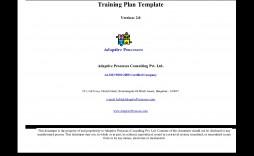 000 Unique Training Plan Template Excel Image  Free Download Schedule Format