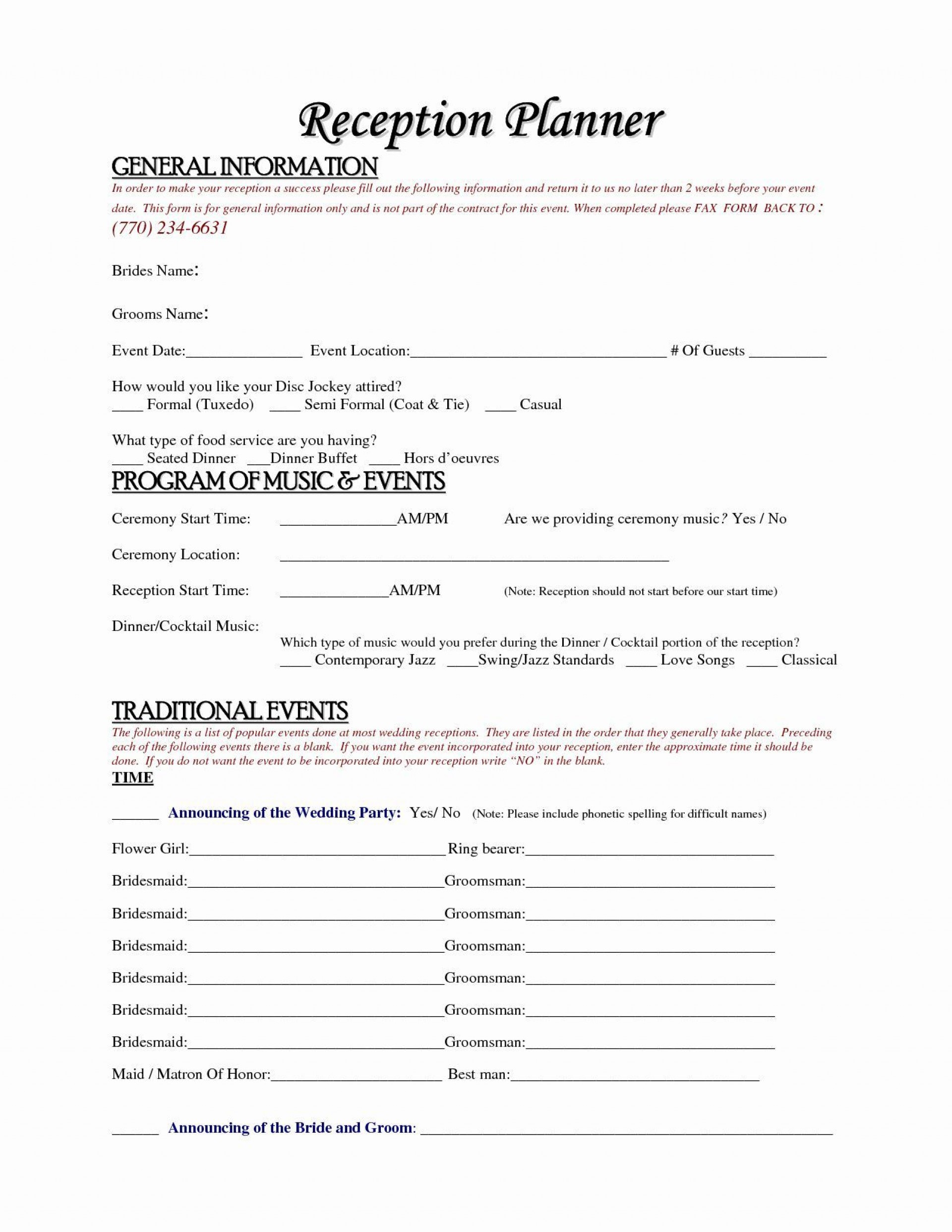 000 Unusual Event Planner Contract Template Design  Free Download Planning1920