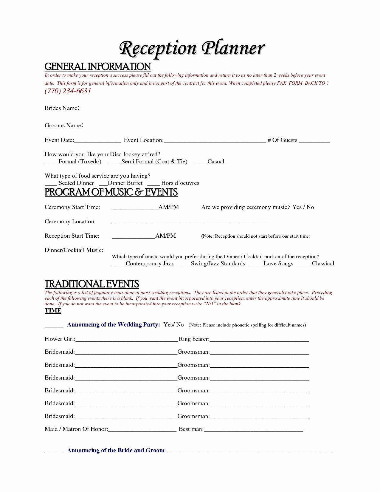 000 Unusual Event Planner Contract Template Design  Free Download PlanningFull