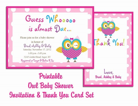 000 Unusual Free Baby Shower Card Template For Word High Def 480