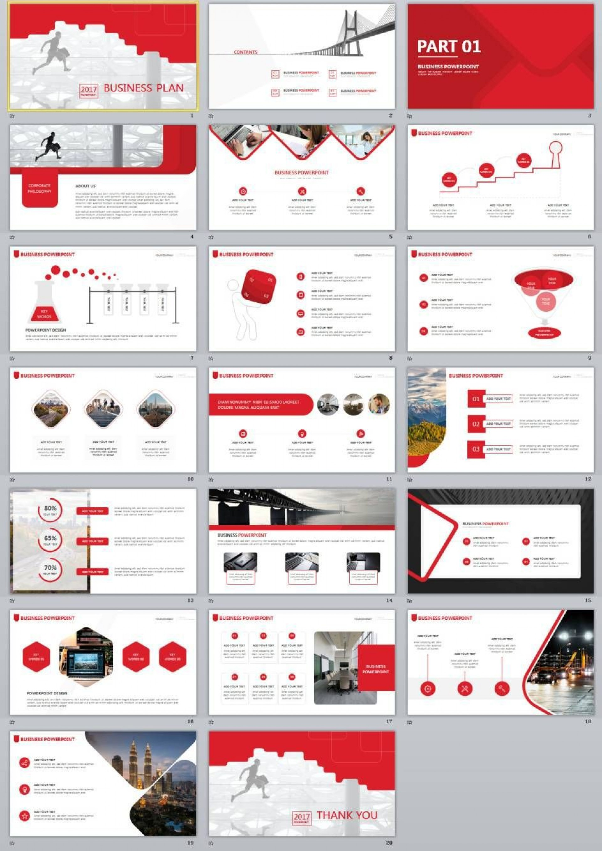 000 Unusual Free Busines Plan Powerpoint Template Download Picture  Modern Ultimate1920