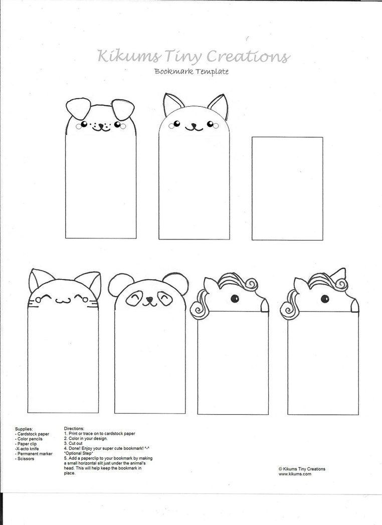 000 Unusual Free Printable Bookmark Template Highest Clarity  Templates Download Photo For TeacherFull