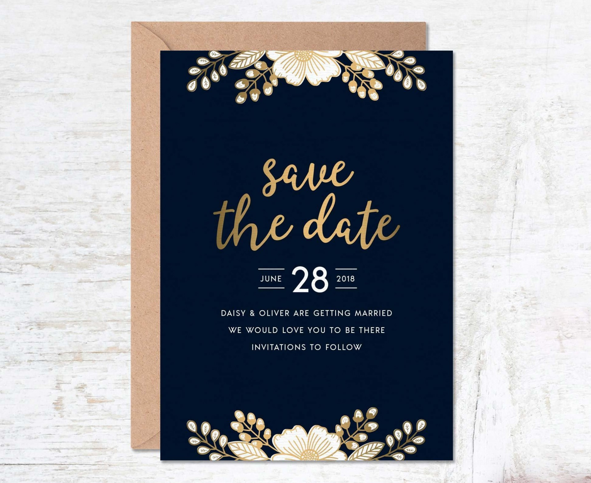 000 Unusual Free Save The Date Birthday Postcard Template Photo 1920