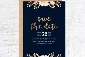 000 Unusual Free Save The Date Birthday Postcard Template Photo