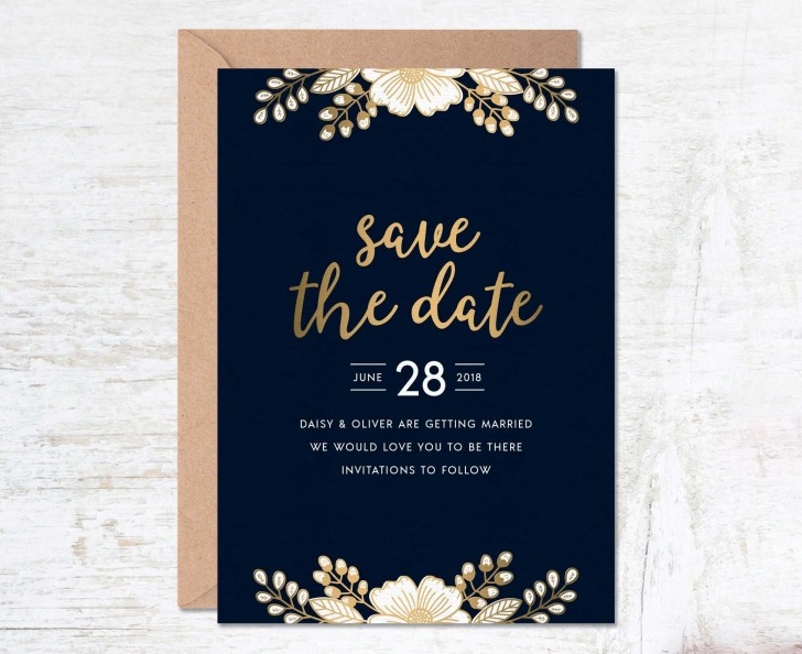 000 Unusual Free Save The Date Birthday Postcard Template Photo 728