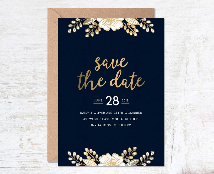 000 Unusual Free Save The Date Birthday Postcard Template Photo 868